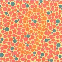 Таблица для определения остроты зрения и цветовосприятия (Рабкина)