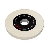 Диск для точильного станка Dnipro-M WA (25А) 36 P (СТ2) 125*32*16 мм