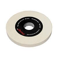 Диск для точильного станка Dnipro-M WA(25А) 60 N(С2) 125*32*16 мм
