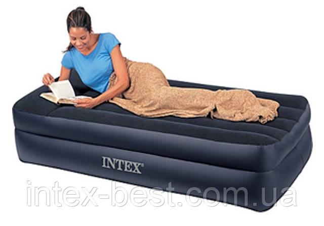 Надувные кровати Intex 66721 ( 191 х 99 х 47 см.) без насоса, фото 2