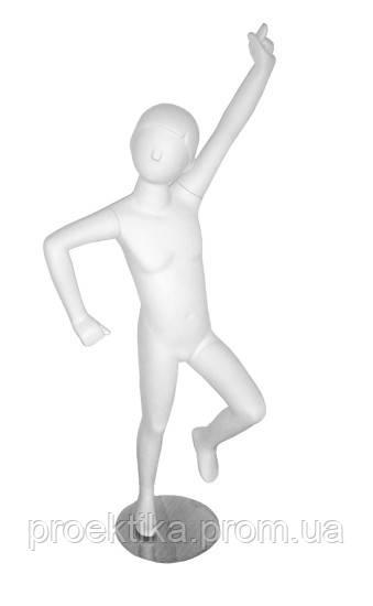 CH-7white Манекен детский стилизованный белый