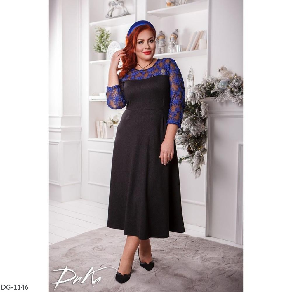Платье в больших размерах (DG-ак 0529)