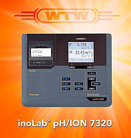 PH-метр/иономер inoLab pH/ION 7320 (без датчиков), встроенный принтер, WTW