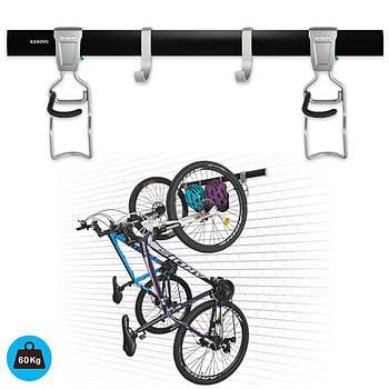Крепление для двух велосипедов на стену вертикально VL5 Kenovo