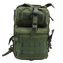 Сумка-рюкзак тактическая военная MHZ A92 800D Олива (010093)
