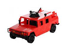 Автомобіль Позашляховик № 1 ОРІОН арт 464 (235x115x100 мм) червоний