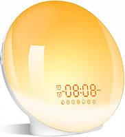 Световой будильник-ночник Noku SunShine имитация восхода солнца (без Wi-Fi)