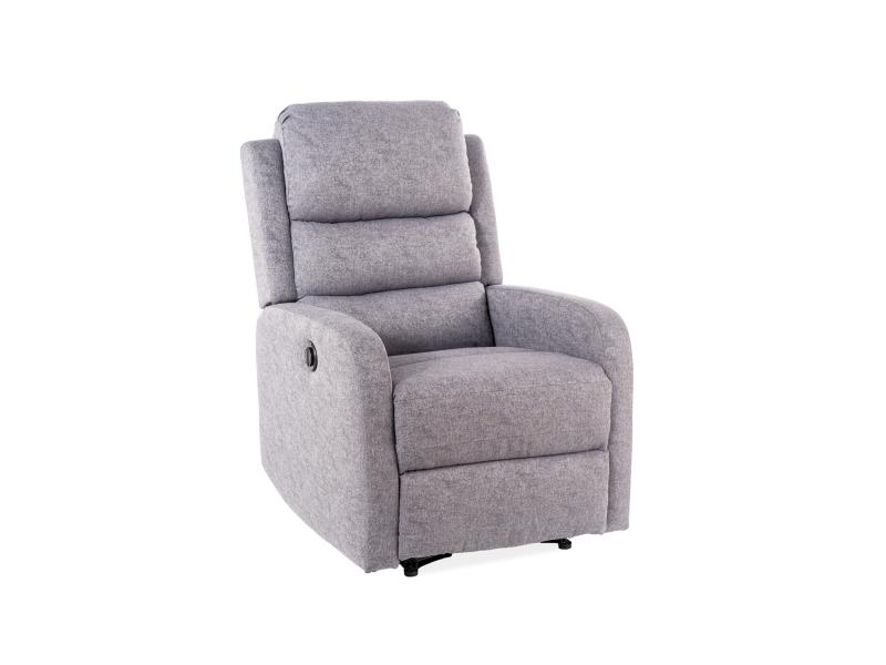 Кресло раскладное PEGAZ серый (Signal)