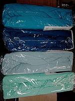 Трикотажная простынь на резинке Хлопок Турция 180*200 Евро темно-синий