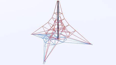 """Детский игровой канатный комплекс """"Пирамида-1"""", фото 2"""