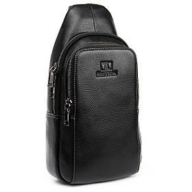 PODIUM Рюкзак Городской кожаный BRETTON BE 2002-3 black