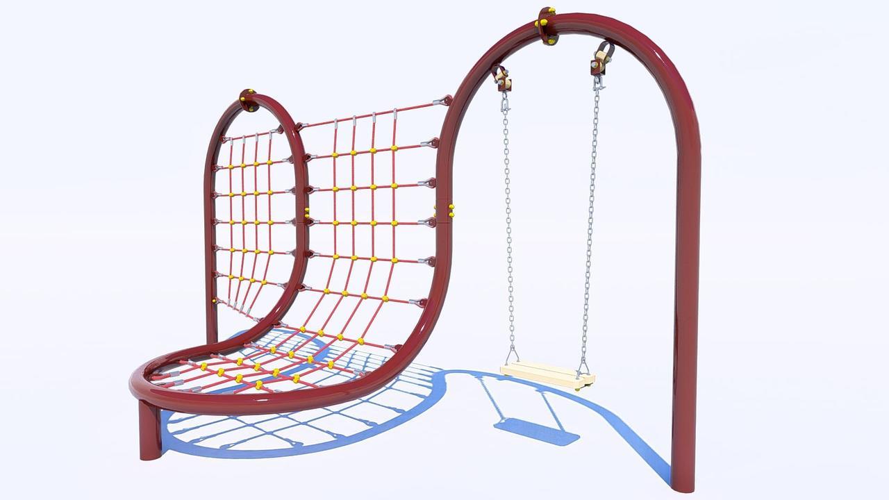 Детский игровой канатный комплекс