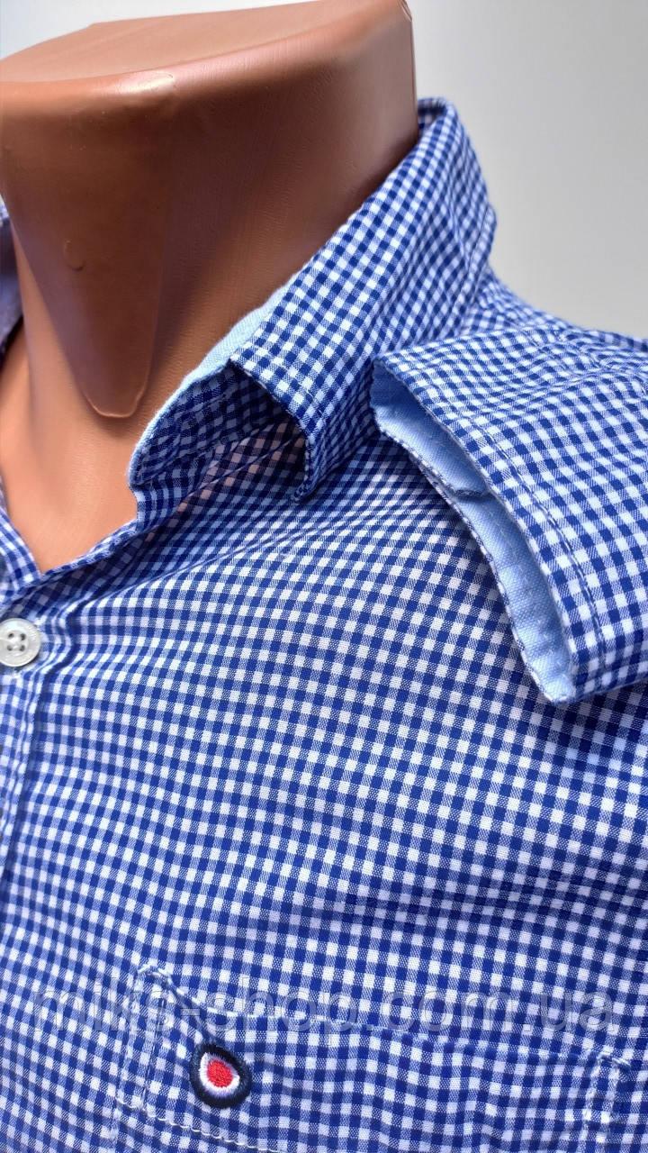 Стильна сорочка BRITONIC в клітку Розмір S ( Я-60)