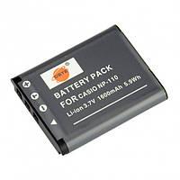 Aккумулятор DSTE для Casio NP-110, 1600 мАч