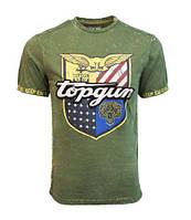 Оригинальная футболка Top Gun Insignia Tee TGM1904 (Olive), фото 1