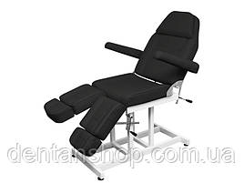 Кресло-кушетка педикюрно-косметологическое Черное  мод. 246T