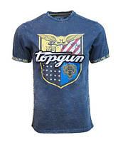 Оригинальная футболка Top Gun Insignia Tee TGM1904 (Navy), фото 1