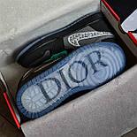 Кроссовки мужские Nike Air Jordan 1 High из коллаборации Диор. Живое фото. Реплика, фото 7
