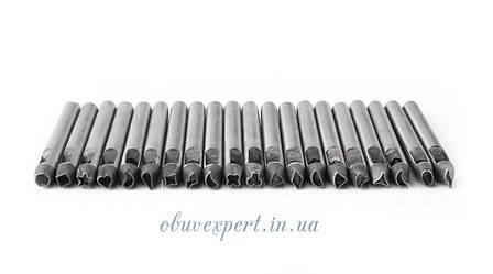 Пробійники фігурні 5 мм Набір 20 шт, фото 2