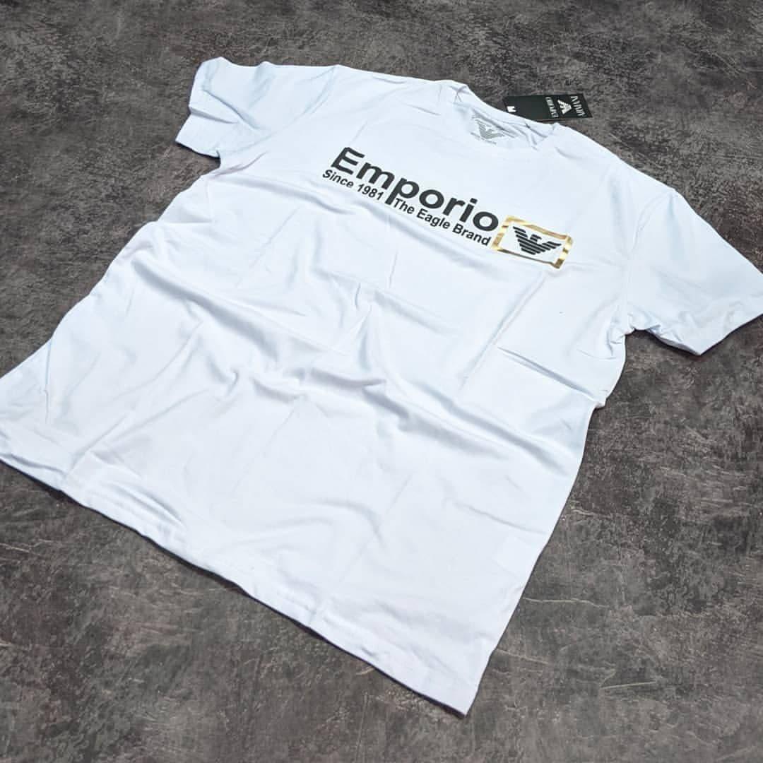 Мужская футболка Emporio Armani CK1649 белая