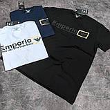 Мужская футболка Emporio Armani CK1650 синяя, фото 2