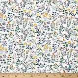 Ткань хлопок для рукоделия полевые цветы, фото 2