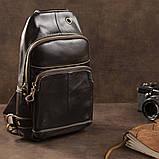 Сумка через плечо мужская Vintage 14858 Коричневая, фото 9