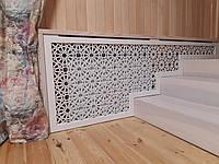 Декоративный экран (Короб) решетка на батарею отопления R39-K70 комплект крепления 780*, фото 1
