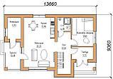 Готовый проект жилого дома К34, фото 4