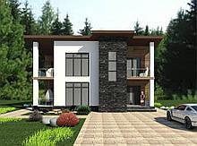 Готовый проект жилого дома К34