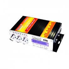 Усилитель звука UKC VA-502BT 2-х канальный, Bluetooth, USB