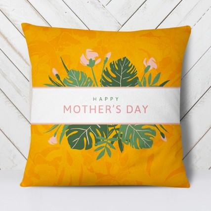 Подушка Mother's Day (Orange)