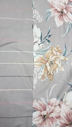 Постельное белье Мгновение перкаль  ТМ Комфорт-Текстиль (Двуспальный), фото 2