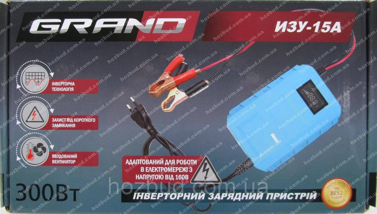 Зарядное устройство Grand ИЗУ-15А (12 В, 24 В)