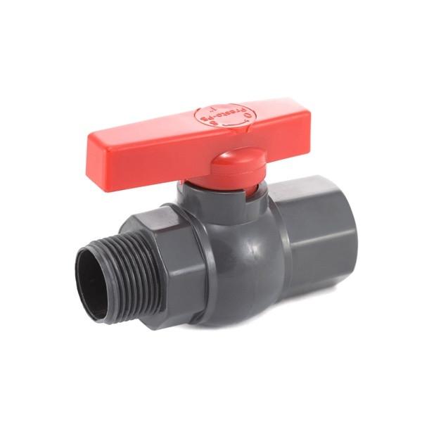 Кран шаровый Presto-PS 50 мм с наружной и внутренней резьбой 2 дюйма (PFV-0163)