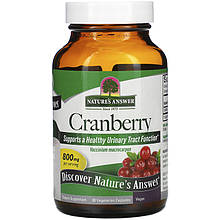 "Клюква Nature's Answer ""Cranberry"" 800 мг (90 капсул)"