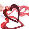 Бумажная гирлянда на День Святого Валентина с сердечками (2 м.), фото 3