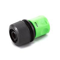 Коннектор Presto-PS для шланга 3/4 дюйма с аквастопом (4112)