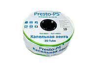 Капельная лента Presto-PS эмиттерная 3D Tube капельницы через 10 см расход 2.7 л/ч, длина 1000 м (3D-10-1000), фото 1