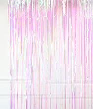 Фото-фон - шторка из фольги ЗЕФИРНЫЙ (1х2 метра)
