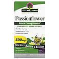 """Страстоцвет Nature's Answer """"Passionflower"""" для успокоения нервной системы, 500 мг (60 капсул), фото 4"""