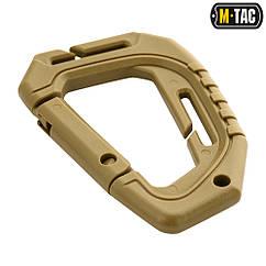 Карабін M-TAC Tactical Пластиковий Coyote