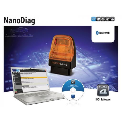 Сканер для диагностики легковых автомобилей TEXA Nano Diag