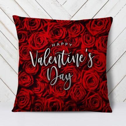 Подушка Happy Valentine's Day