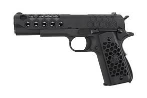 Пістолет WE Colt 1911 Hex Cut V.3 Black GBB