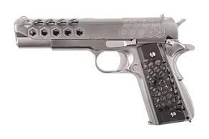 Пістолет WE Colt 1911 Hex Cut V.3 Silver GBB