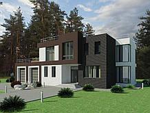 Готовый проект жилого дома К35