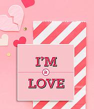 "Романтическая открытка ""I'M IN LOVE"""