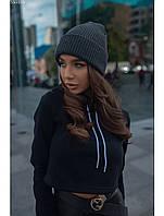 Женская шапка Staff graphite, фото 1