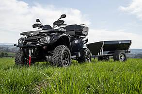 Прицеп для квадроцикла Shark ATV Trailer Wood 550kg (Black)
